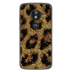Funda Gel Tpu para Motorola Moto E5 / G6 Play Diseño Leopardo Dibujos