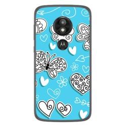 Funda Gel Tpu para Motorola Moto E5 / G6 Play Diseño Mariposas Dibujos