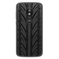 Funda Gel Tpu para Motorola Moto E5 / G6 Play Diseño Neumatico Dibujos