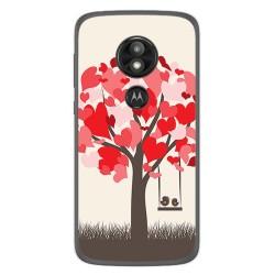 Funda Gel Tpu para Motorola Moto E5 / G6 Play Diseño Pajaritos Dibujos