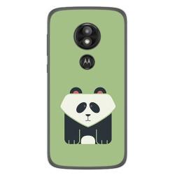 Funda Gel Tpu para Motorola Moto E5 / G6 Play Diseño Panda Dibujos