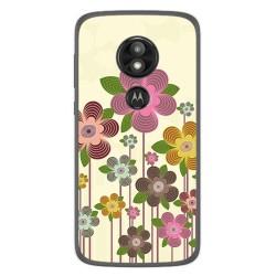 Funda Gel Tpu para Motorola Moto E5 / G6 Play Diseño Primavera En Flor Dibujos