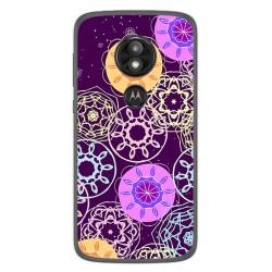Funda Gel Tpu para Motorola Moto E5 / G6 Play Diseño Radial Dibujos