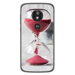 Funda Gel Tpu para Motorola Moto E5 / G6 Play Diseño Reloj Dibujos