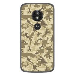 Funda Gel Tpu para Motorola Moto E5 / G6 Play Diseño Sand Camuflaje Dibujos