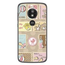 Funda Gel Tpu para Motorola Moto E5 / G6 Play Diseño Sellos Dibujos