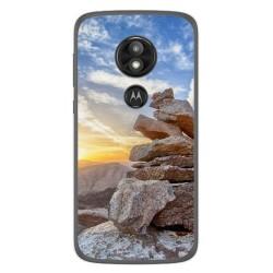 Funda Gel Tpu para Motorola Moto E5 / G6 Play Diseño Sunset Dibujos