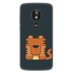 Funda Gel Tpu para Motorola Moto E5 / G6 Play Diseño Tigre Dibujos