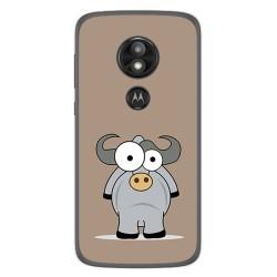 Funda Gel Tpu para Motorola Moto E5 / G6 Play Diseño Toro Dibujos
