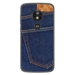 Funda Gel Tpu para Motorola Moto E5 / G6 Play Diseño Vaquero Dibujos