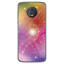 Funda Gel Tpu para Motorola Moto G6 Plus Diseño Abstracto Dibujos