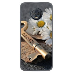 Funda Gel Tpu para Motorola Moto G6 Plus Diseño Dream Dibujos