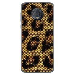 Funda Gel Tpu para Motorola Moto G6 Plus Diseño Leopardo Dibujos