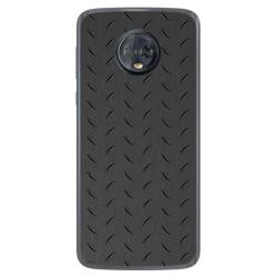 Funda Gel Tpu para Motorola Moto G6 Plus Diseño Metal Dibujos