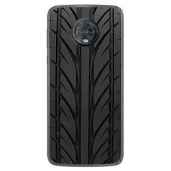 Funda Gel Tpu para Motorola Moto G6 Plus Diseño Neumatico Dibujos