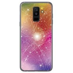 Funda Gel Tpu para Samsung Galaxy A6 Plus (2018) Diseño Abstracto Dibujos