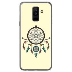 Funda Gel Tpu para Samsung Galaxy A6 Plus (2018) Diseño Atrapasueños Dibujos