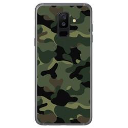 Funda Gel Tpu para Samsung Galaxy A6 Plus (2018) Diseño Camuflaje Dibujos