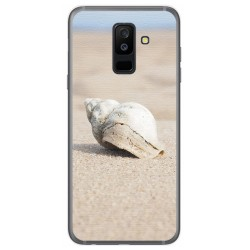 Funda Gel Tpu para Samsung Galaxy A6 Plus (2018) Diseño Concha Dibujos