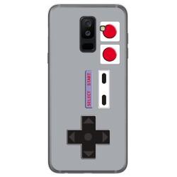 Funda Gel Tpu para Samsung Galaxy A6 Plus (2018) Diseño Consola Dibujos