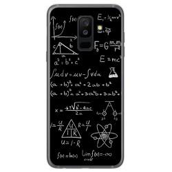 Funda Gel Tpu para Samsung Galaxy A6 Plus (2018) Diseño Formulas Dibujos