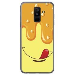 Funda Gel Tpu para Samsung Galaxy A6 Plus (2018) Diseño Helado Vainilla Dibujos