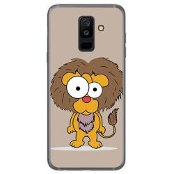 Funda Gel Tpu para Samsung Galaxy A6 Plus (2018) Diseño Leon Dibujos