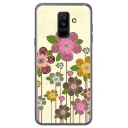 Funda Gel Tpu para Samsung Galaxy A6 Plus (2018) Diseño Primavera En Flor Dibujos