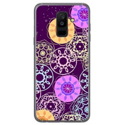 Funda Gel Tpu para Samsung Galaxy A6 Plus (2018) Diseño Radial Dibujos