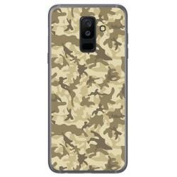 Funda Gel Tpu para Samsung Galaxy A6 Plus (2018) Diseño Sand Camuflaje Dibujos