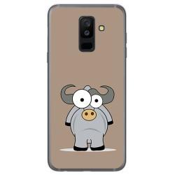 Funda Gel Tpu para Samsung Galaxy A6 Plus (2018) Diseño Toro Dibujos