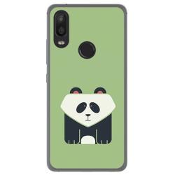 Funda Gel Tpu para Bq Aquaris X2 / X2 Pro Diseño Panda Dibujos