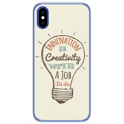 Funda Gel Tpu para Doogee X55 Diseño Creativity Dibujos