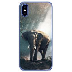 Funda Gel Tpu para Doogee X55 Diseño Elefante Dibujos