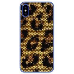 Funda Gel Tpu para Doogee X55 Diseño Leopardo Dibujos