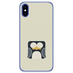 Funda Gel Tpu para Doogee X55 Diseño Pingüino Dibujos