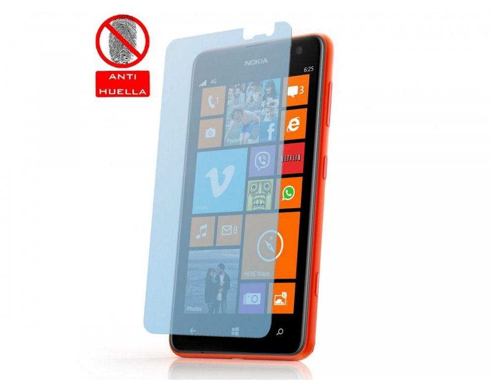 3 X Protector Pantalla Anti-Glare Nokia Lumia 625