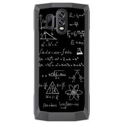 Funda Gel Tpu para Homtom HT70 Diseño Formulas Dibujos