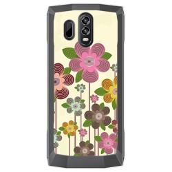 Funda Gel Tpu para Homtom HT70 Diseño Primavera En Flor Dibujos