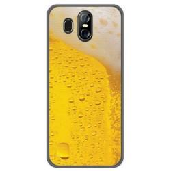 Funda Gel Tpu para Homtom S16 Diseño Cerveza Dibujos