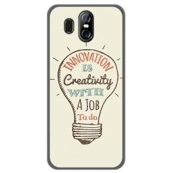 Funda Gel Tpu para Homtom S16 Diseño Creativity Dibujos