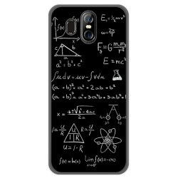 Funda Gel Tpu para Homtom S16 Diseño Formulas Dibujos