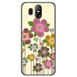 Funda Gel Tpu para Homtom S16 Diseño Primavera En Flor Dibujos