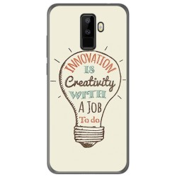 Funda Gel Tpu para Leagoo M9 Diseño Creativity Dibujos