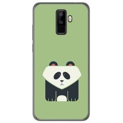 Funda Gel Tpu para Leagoo M9 Diseño Panda Dibujos