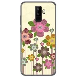 Funda Gel Tpu para Leagoo M9 Diseño Primavera En Flor Dibujos
