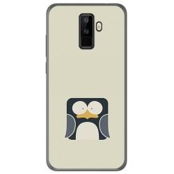 Funda Gel Tpu para Leagoo M9 Diseño Pingüino Dibujos