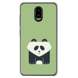 Funda Gel Tpu para Leagoo Z7 Diseño Panda Dibujos
