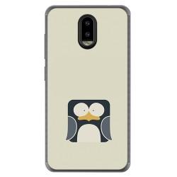 Funda Gel Tpu para Leagoo Z7 Diseño Pingüino Dibujos