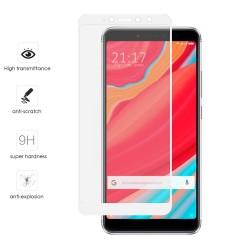 Protector Cristal Templado Frontal Completo Blanco para Xiaomi Redmi S2 Vidrio